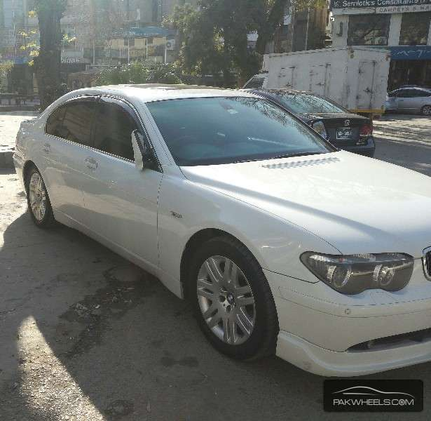 Used BMW 7 Series 735i 2003 Car For Sale In Islamabad
