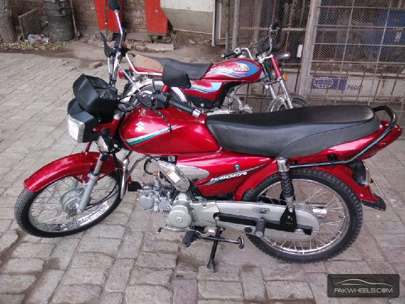 Used Suzuki Raider 110 2012 Bike For Sale In Peshawar