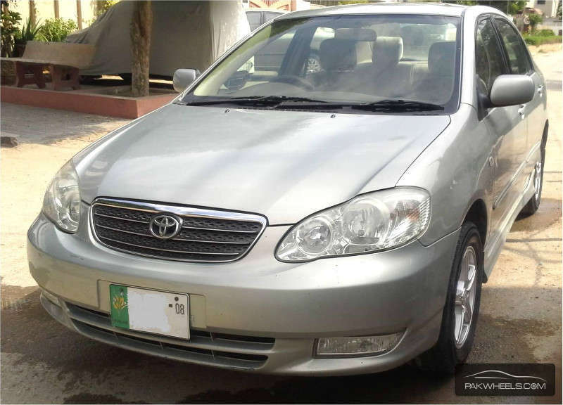 toyota corolla altis 1 8 2008 for sale in lahore pakwheels. Black Bedroom Furniture Sets. Home Design Ideas