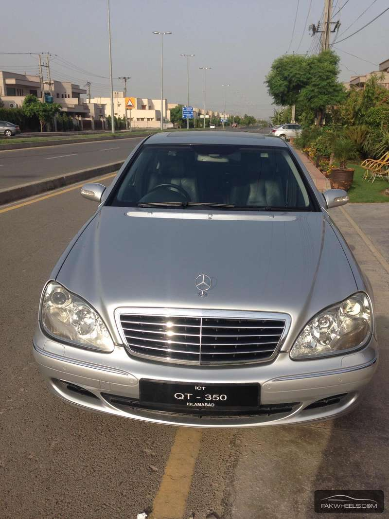 Mercedes benz s class s350 2004 for sale in lahore pakwheels for Mercedes benz s350