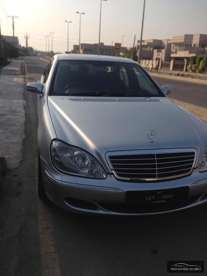 Mercedes Benz S Class S350 2004 Image-6