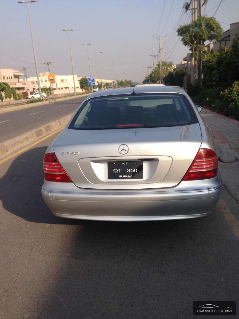 Mercedes Benz S Class S350 2004 Image-7