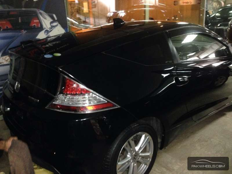 Honda CR-Z Sports Hybrid Alpha Black Label 2010 Image-6