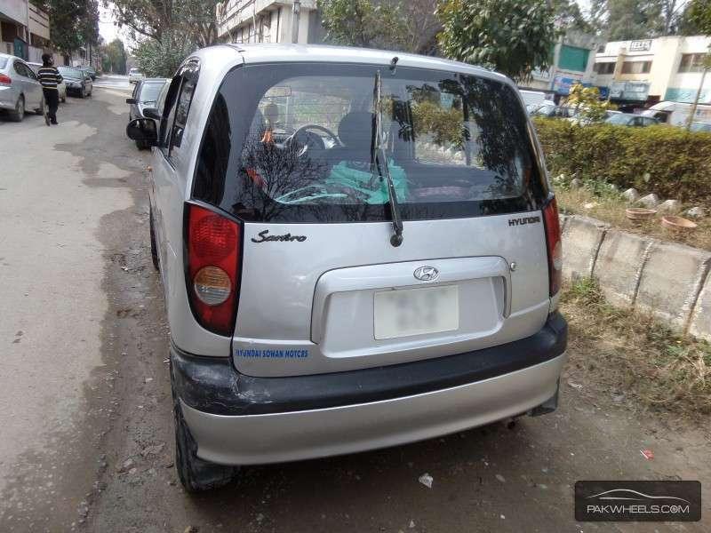 Hyundai Santro Club GV 2007 Image-7