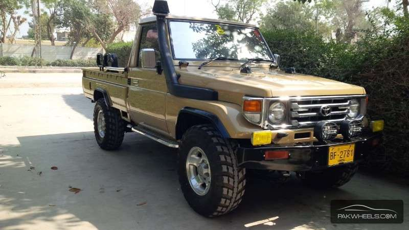 Toyota Land Cruiser 1990 For Sale In Karachi Pakwheels