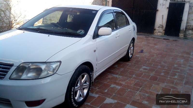 used toyota corolla x 2004 car for sale in peshawar 1117771 pakwheels. Black Bedroom Furniture Sets. Home Design Ideas