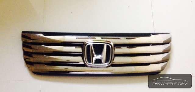 Honda N BOX CUSTOM FRONT chrome grill  Image-1