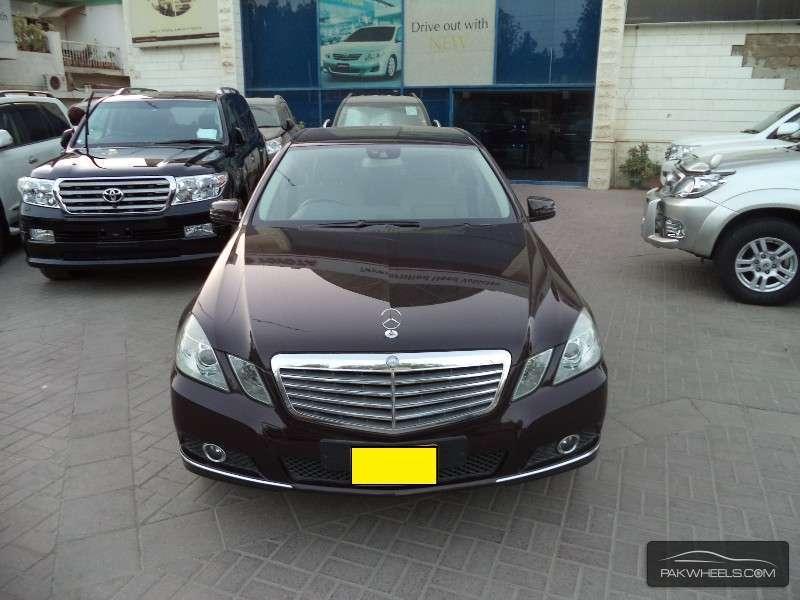 Mercedes benz e class e250 cgi 2010 for sale in karachi for 2010 mercedes benz e class for sale