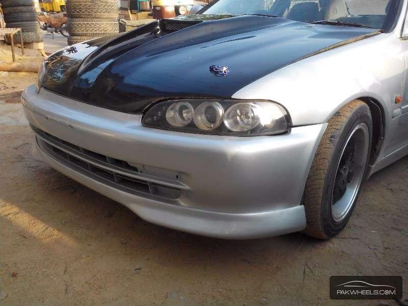 used honda civic 1995 car for sale in karachi 1140836 pakwheels. Black Bedroom Furniture Sets. Home Design Ideas
