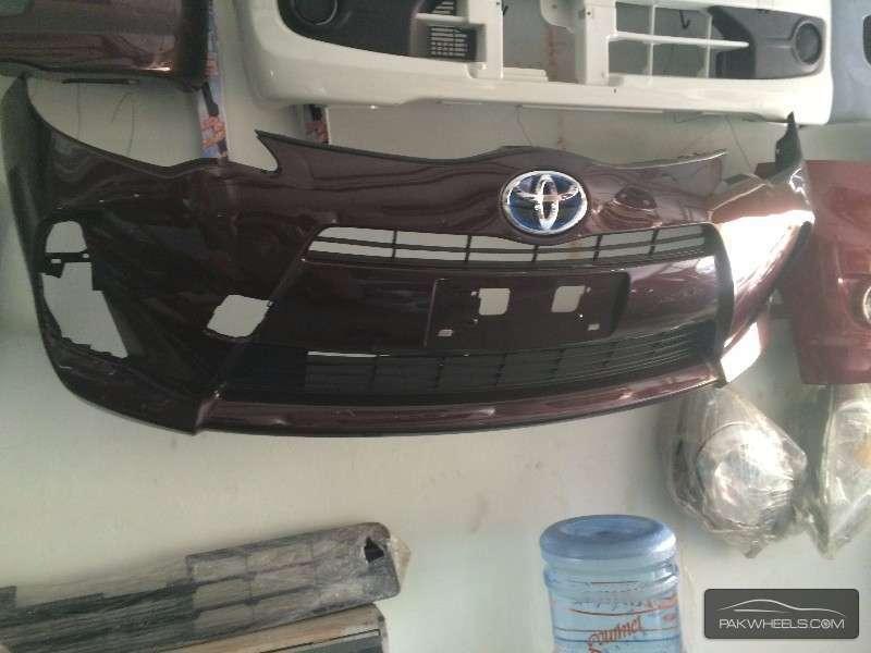 Toyota aqua Front bumper For Sale Image-1