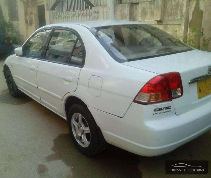 used honda civic exi 2005 car for sale in karachi 1151457 pakwheels. Black Bedroom Furniture Sets. Home Design Ideas