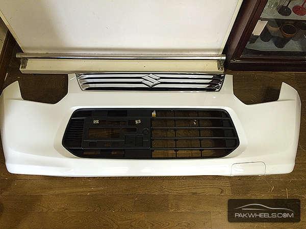 Suzuki wagonr fx mh34 front bumper For Sale Image-1