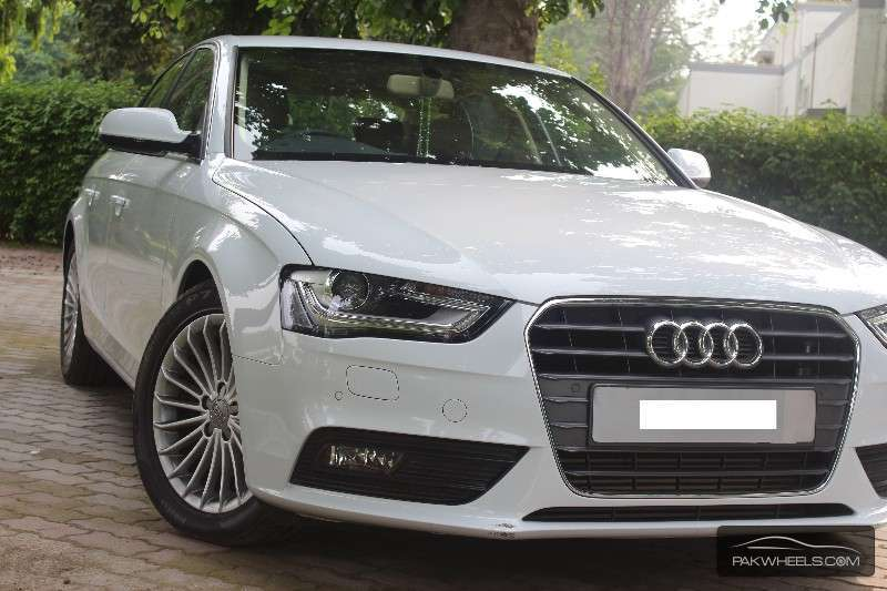 used audi a4 saloon 2013 car for sale in lahore 1183418 pakwheels. Black Bedroom Furniture Sets. Home Design Ideas