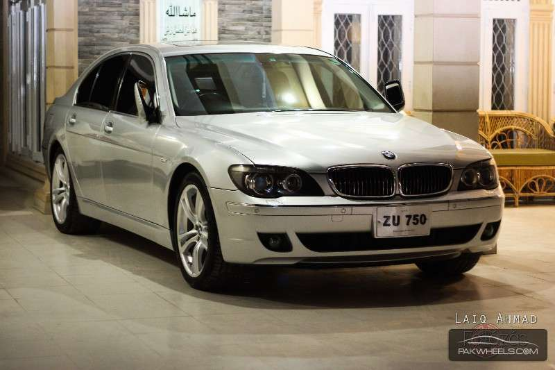bmw 7 series 750i 2007 for sale in islamabad pakwheels. Black Bedroom Furniture Sets. Home Design Ideas
