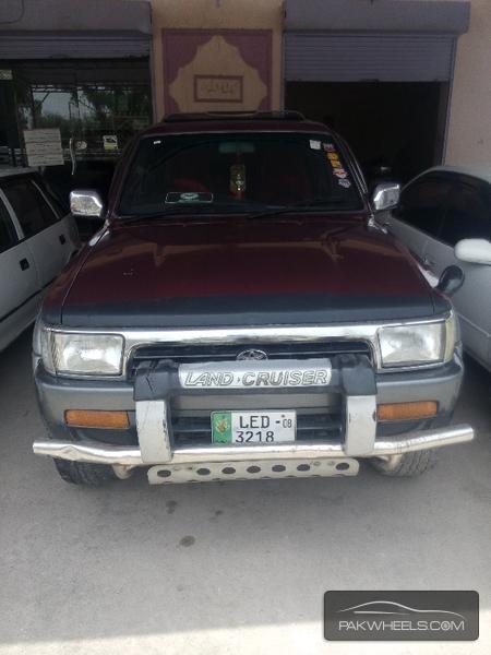 Toyota Surf SSR-G 3.4 1992 Image-1