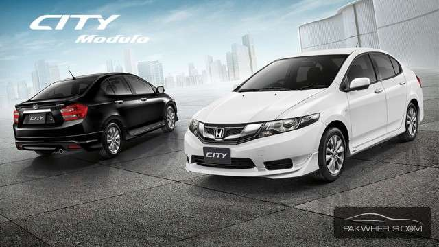 Honda City Body Kit - Modulo (Thailand-ABS Plastic) For Sale Image-1