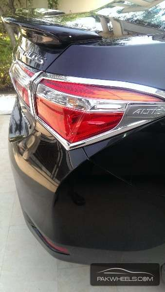 Toyota Corolla Spoiler-(ABS Plastic) in Lahore
