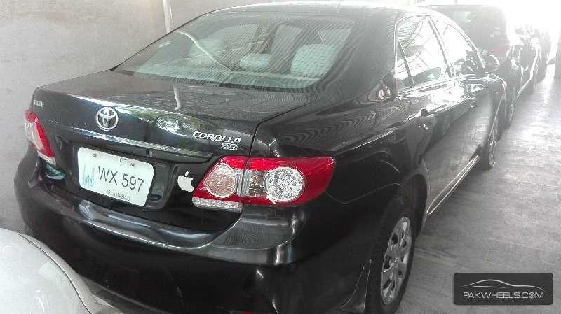Toyota Corolla XLi VVTi Ecotec 2012 Image-3