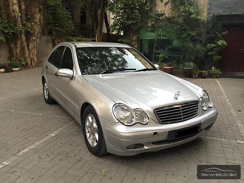 mercedes benz c class c180 kompressor 2003 for sale in lahore pakwheels. Black Bedroom Furniture Sets. Home Design Ideas