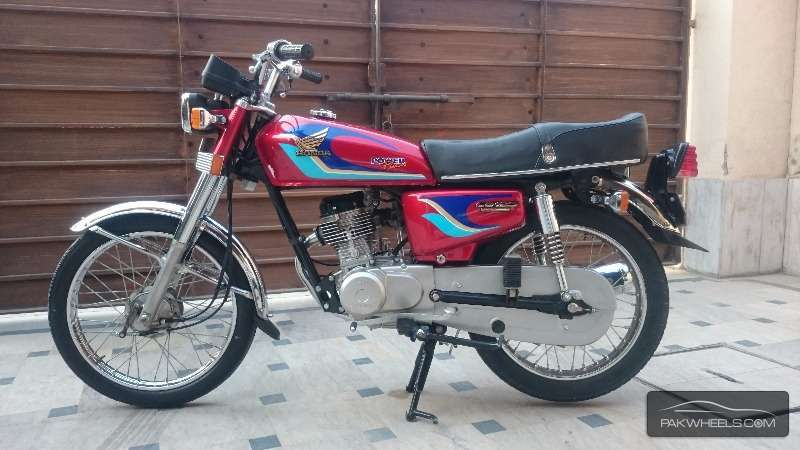 used honda cg 125 1998 bike for sale in lahore 146438 pakwheels. Black Bedroom Furniture Sets. Home Design Ideas