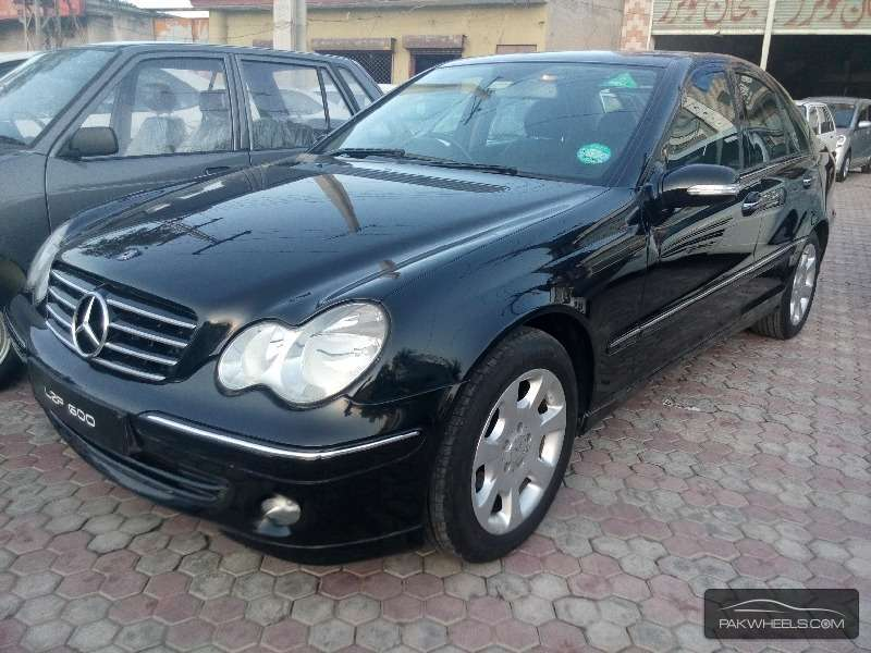 mercedes benz c class c200 2005 for sale in gujranwala. Black Bedroom Furniture Sets. Home Design Ideas