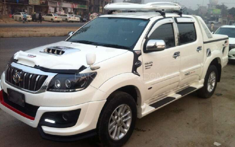 Toyota Hilux Vigo Champ G 2012 For Sale In Lahore Pakwheels