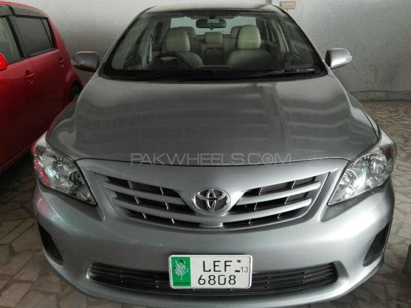 Toyota Corolla GLi Automatic 1.6 VVTi 2013 Image-1