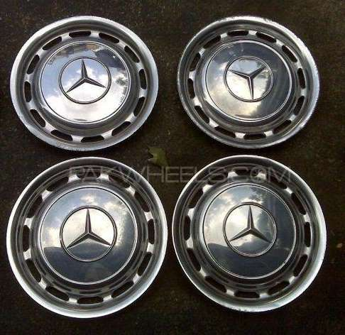 Old Mercedes Benz Vintage Rim Covers Image-1