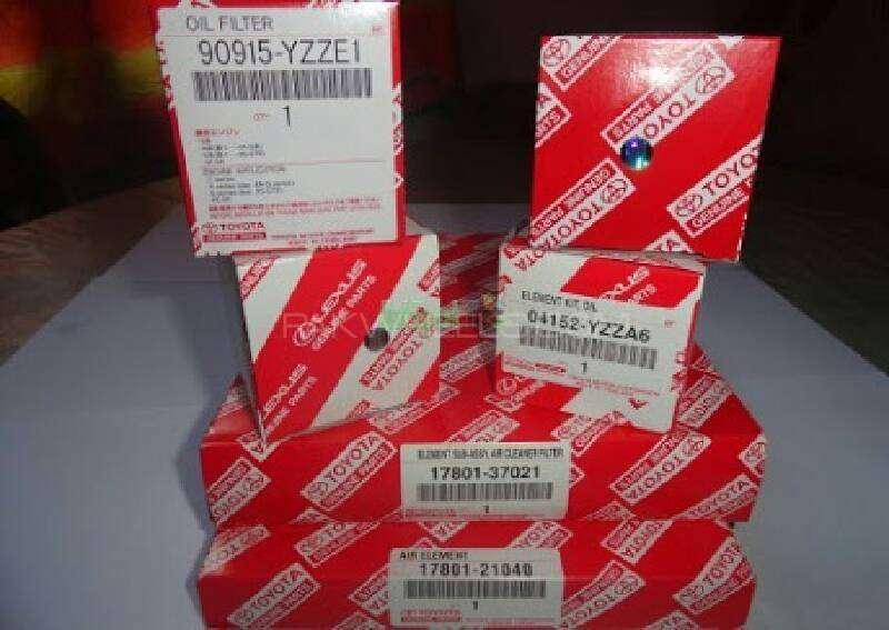 prius  1.8 air filter oil filter zvw30 For Sale Image-1