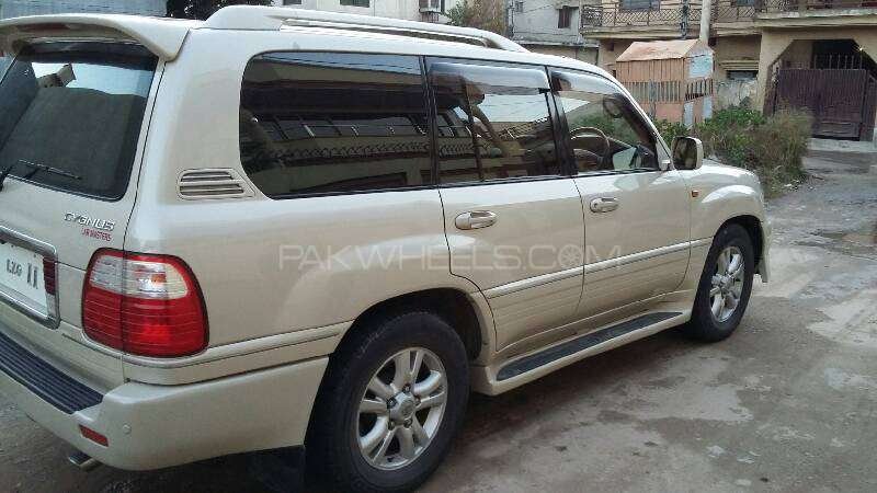 toyota land cruiser cygnus 2003 for sale in islamabad