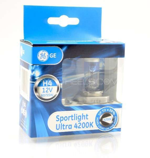 GE Sportlight 4200k White  Headlights Bulbs For Sale Image-1