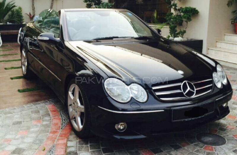 mercedes benz clk class clk200 kompressor cabriolet 2007 for sale in lahore pakwheels. Black Bedroom Furniture Sets. Home Design Ideas