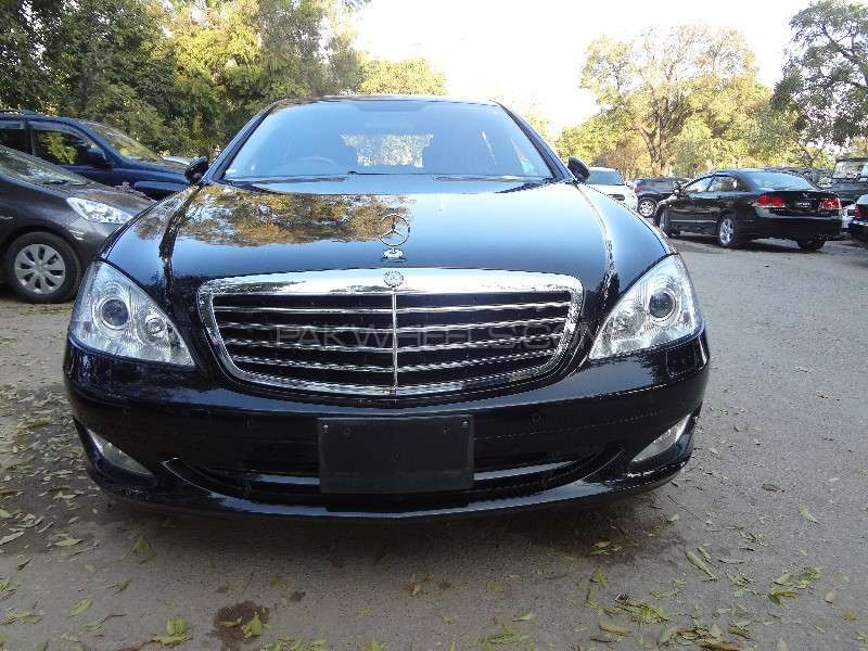 Used mercedes benz s class 2007 car for sale in islamabad for Mercedes benz s550 rims for sale