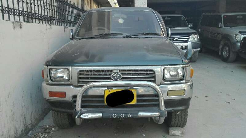 Toyota Hilux Double Cab 1996 Image-1
