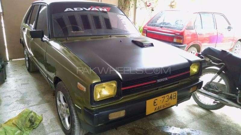 Toyota Starlet 84 For Sale In Karachi: Toyota Starlet 1.0 1981 For Sale In Karachi