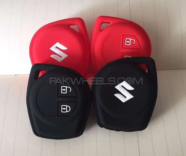Suzuki Key Cover silicone car key cases 2 buttons For Sale Image-1