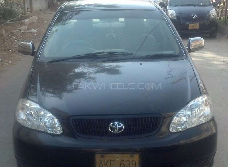 toyota corolla gli 1 3 2006 for sale in karachi pakwheels. Black Bedroom Furniture Sets. Home Design Ideas