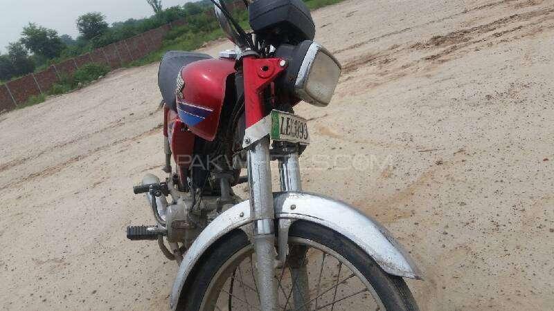 Honda CD 70 - 2014 rider 3 Image-1