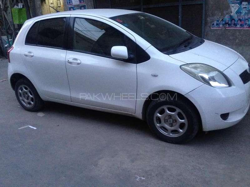 Toyota Vitz - 2007 hamza Hadi Image-1
