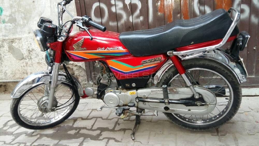 Honda CD 70 - 2011 Tommy Image-1