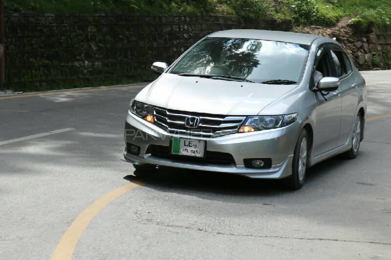 Honda City - 2015 silver beast Image-1