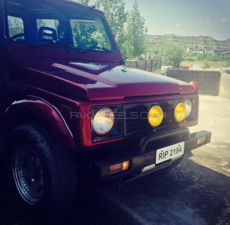 Suzuki Samuari - 1986  Image-1