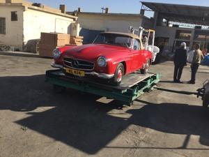 Mercedes Benz Sl Class - 1956