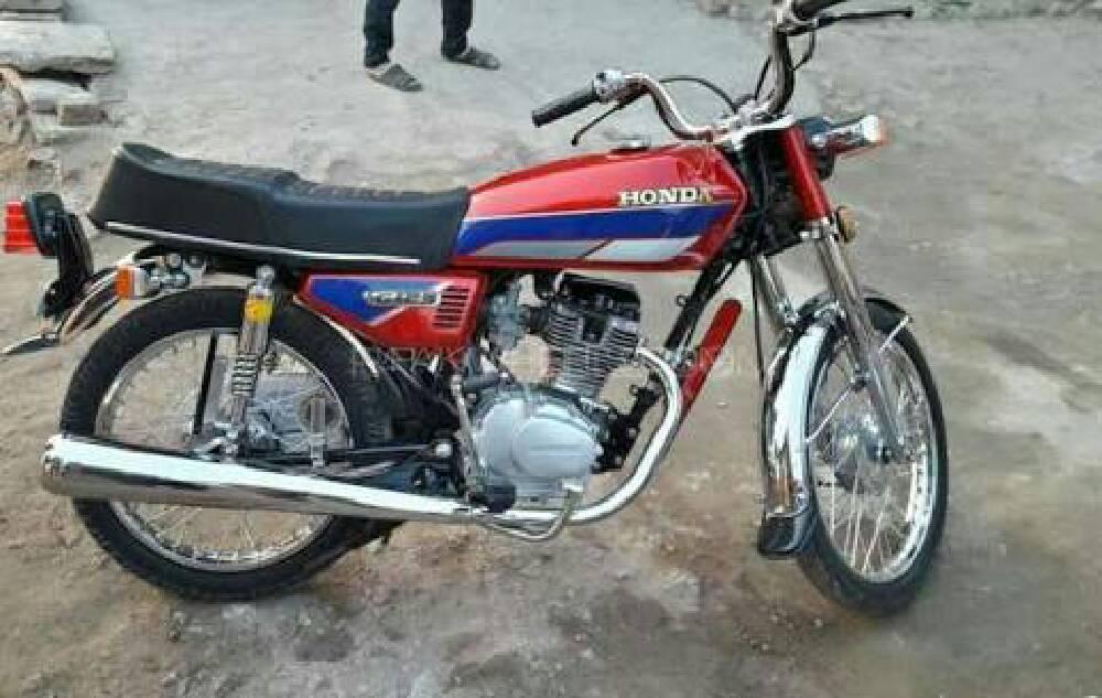 Honda CG 125 - 1992 Honda Image-1