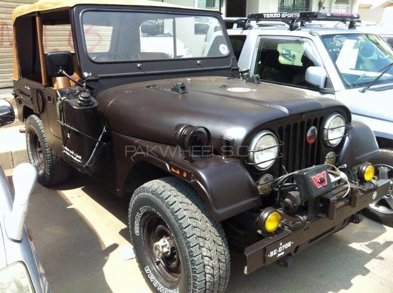 Jeep Wrangler - 1980  Image-1