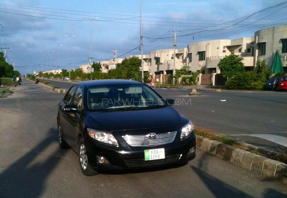 Toyota Corolla - 2010 Black Beast Image-1