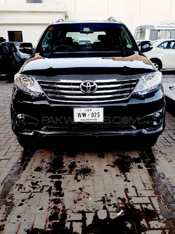 Toyota Fortuner - 2014 ww 25 Image-1