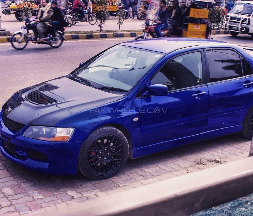 Mitsubishi Lancer - 2003 Blue Image-1