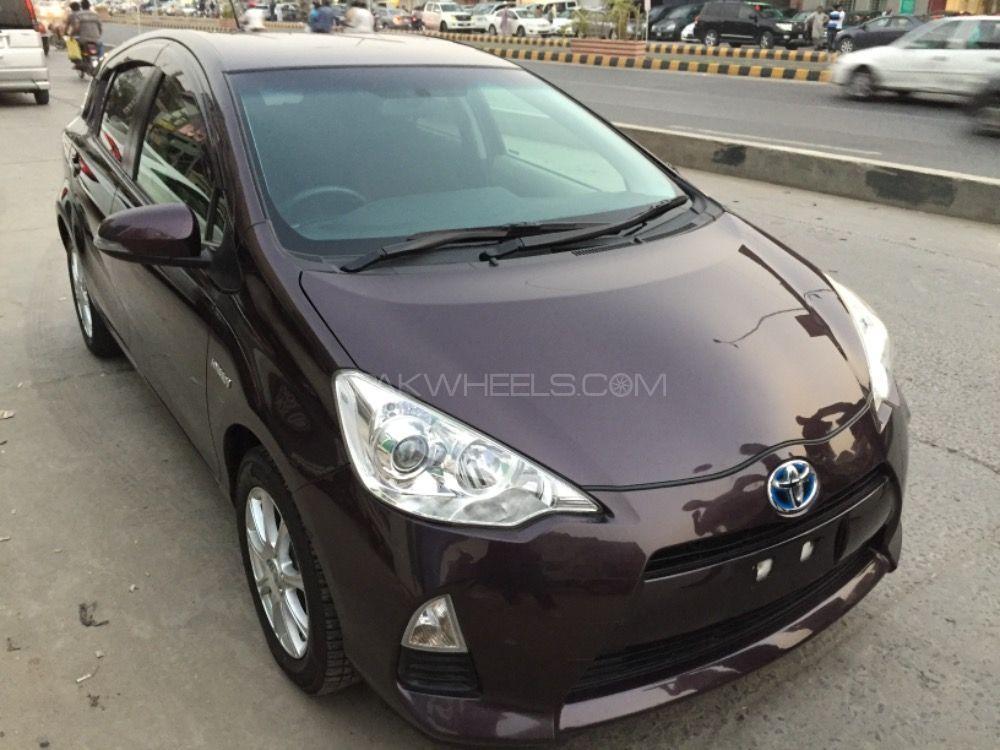 Toyota Aqua - 2014 Jamshed Akhlaq Image-1
