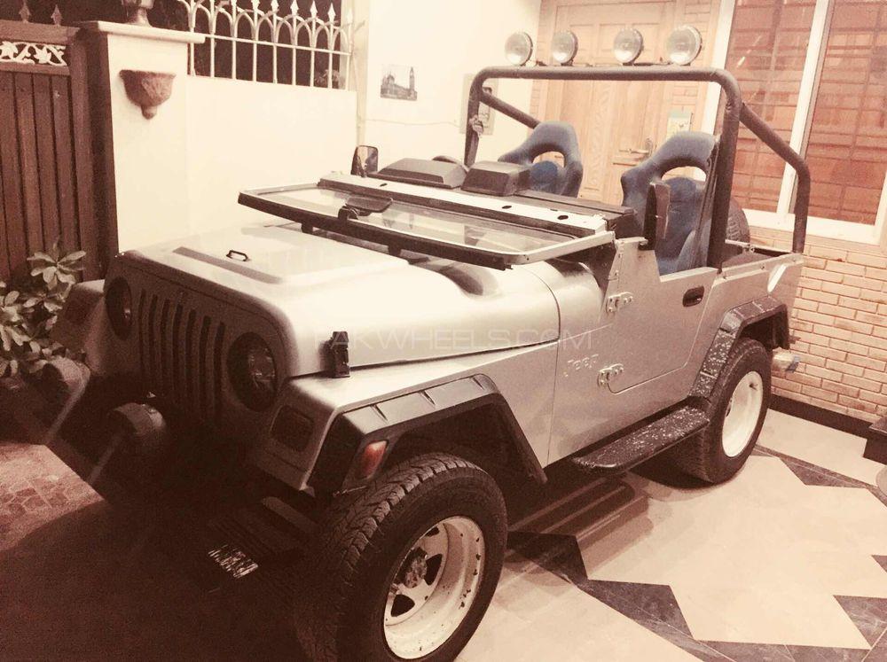 Jeep CJ 5 - 1972 Khamaar Image-1